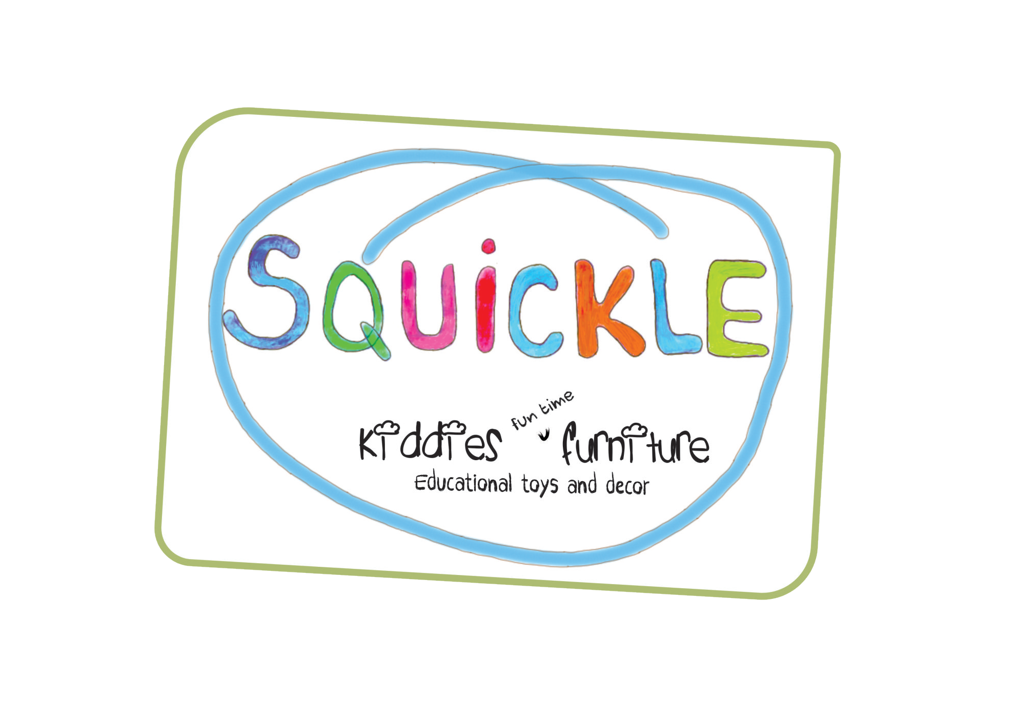 Squickle Logo new White trans background